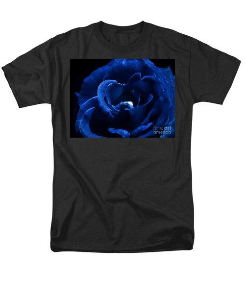 Blue Blue Rose Men's T-Shirt  (Regular Fit) by Clayton Bruster