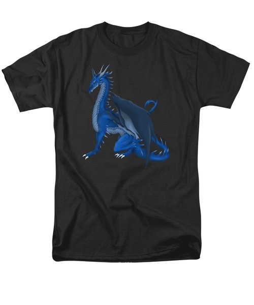 Blue Dragon Men's T-Shirt  (Regular Fit) by Gaynore Craps