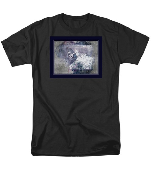 Blue Dreams And Butterflies Men's T-Shirt  (Regular Fit) by Karen McKenzie McAdoo