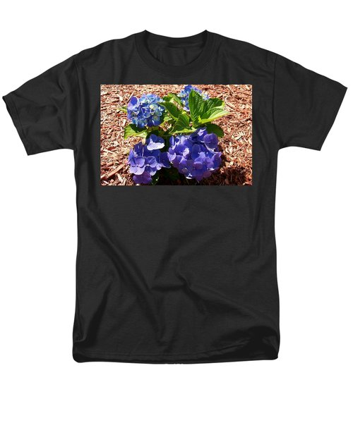 Men's T-Shirt  (Regular Fit) featuring the digital art Blue Heaven by Barbara S Nickerson