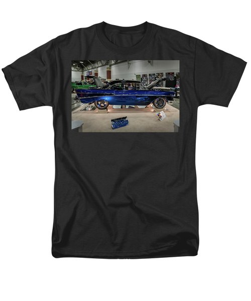 Men's T-Shirt  (Regular Fit) featuring the photograph Blue Heaven by Randy Scherkenbach