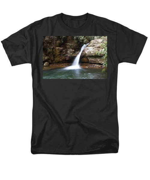Men's T-Shirt  (Regular Fit) featuring the photograph Blue Hole In Spring #1 by Jeff Severson