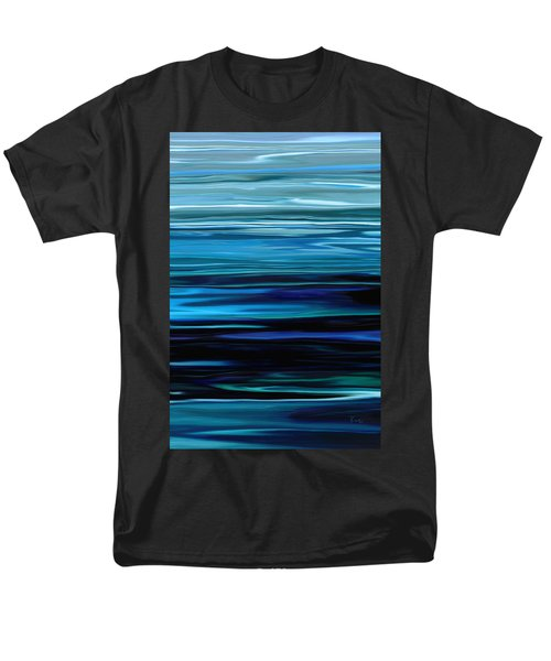 Blue Horrizon Men's T-Shirt  (Regular Fit) by Rabi Khan