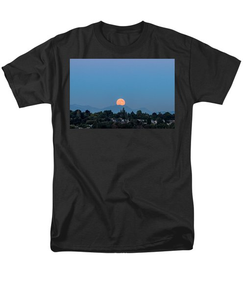 Blue Moon.2 Men's T-Shirt  (Regular Fit) by E Faithe Lester
