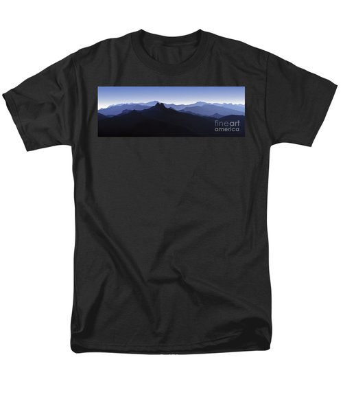 Men's T-Shirt  (Regular Fit) featuring the photograph Blue Ridge Mountains. Pacific Crest Trail by David Zanzinger
