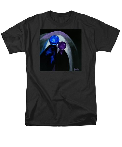 Blue Shooter Amethyst Aggie Men's T-Shirt  (Regular Fit) by Susan Duda