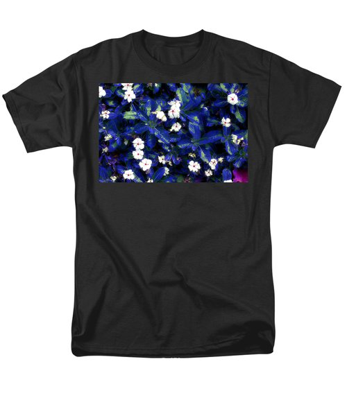 Blue White I Men's T-Shirt  (Regular Fit) by Terence Morrissey