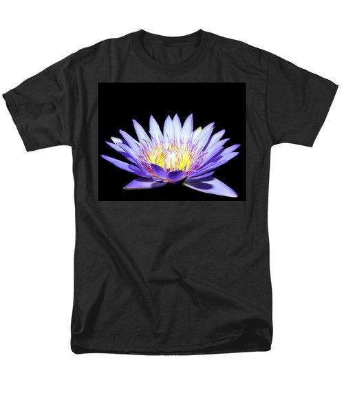 Men's T-Shirt  (Regular Fit) featuring the photograph Blue Wonder by Judy Vincent