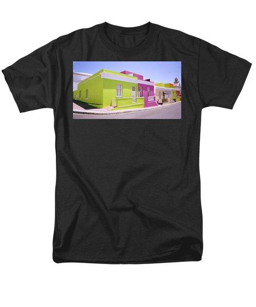 Bo Kaap Color Men's T-Shirt  (Regular Fit) by Shaun Higson