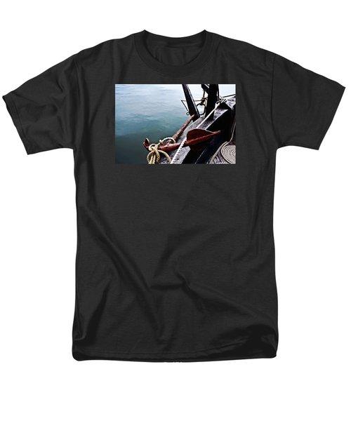 Boat Anchor Men's T-Shirt  (Regular Fit) by Rena Trepanier