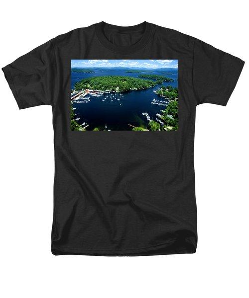 Boating Season Men's T-Shirt  (Regular Fit) by Greg Fortier