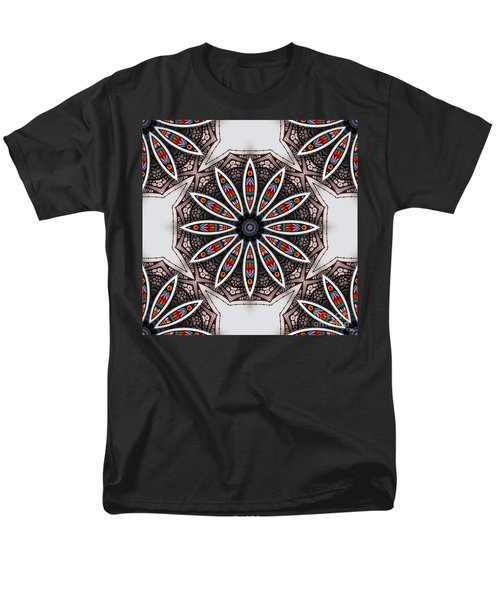 Boho Flower Men's T-Shirt  (Regular Fit) by Mo T