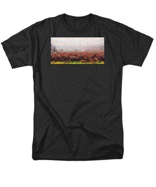 Boiling Field Men's T-Shirt  (Regular Fit) by Spyder Webb