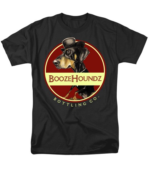 Boozehoundz Bottling Co. Men's T-Shirt  (Regular Fit) by John LaFree