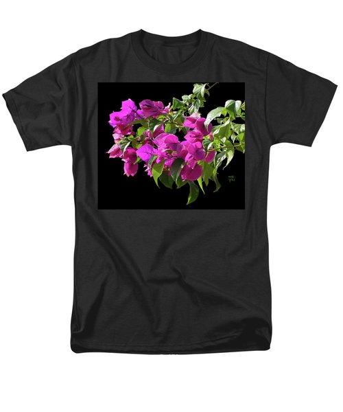 Bougainvillea Cutout Men's T-Shirt  (Regular Fit) by Shirley Heyn
