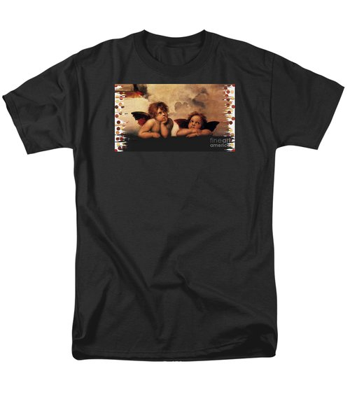 Men's T-Shirt  (Regular Fit) featuring the painting Bouguereau Painting Fresh Paint  by Catherine Lott