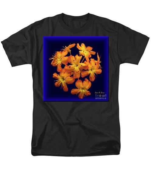 Men's T-Shirt  (Regular Fit) featuring the digital art Bouquet In A Box by Donna Brown