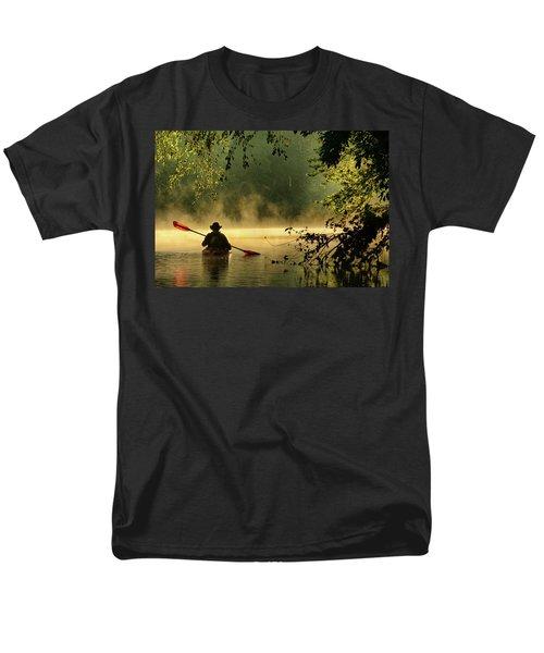 Bourbeuse River  Men's T-Shirt  (Regular Fit) by Robert Charity