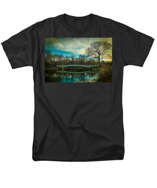 Men's T-Shirt  (Regular Fit) featuring the photograph Bow Bridge Reflection by Chris Lord