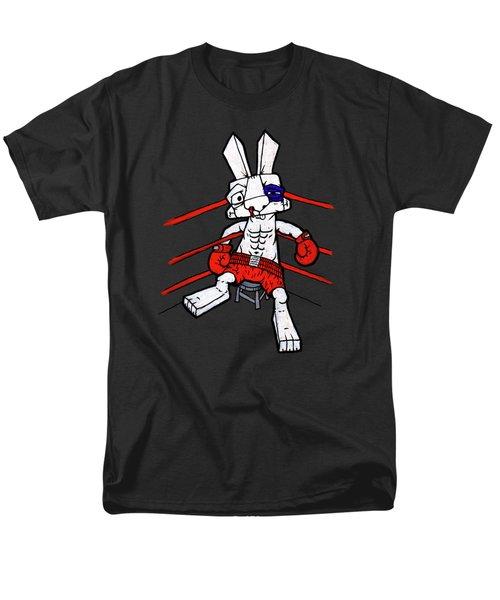Boxer Bunny Men's T-Shirt  (Regular Fit) by Bizarre Bunny