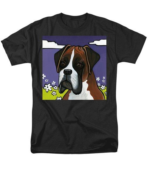 Boxer Men's T-Shirt  (Regular Fit) by Leanne Wilkes