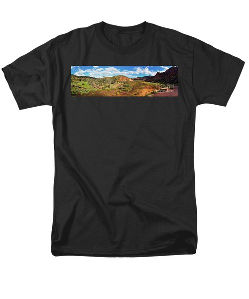 Men's T-Shirt  (Regular Fit) featuring the photograph Bracchina Gorge Flinders Ranges South Australia by Bill Robinson