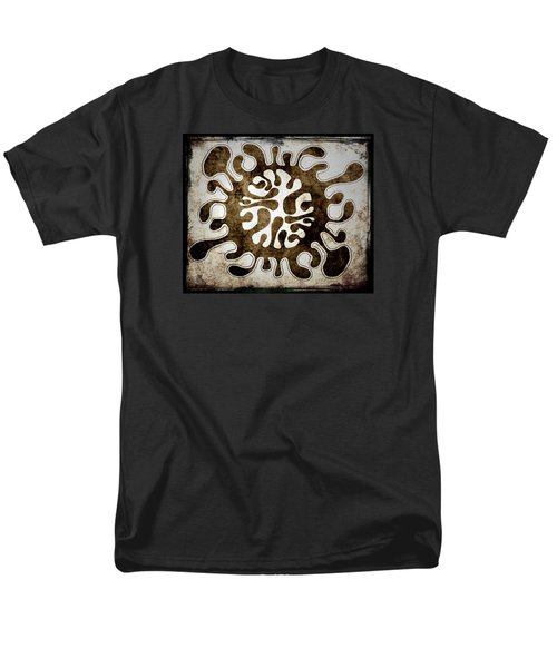 Men's T-Shirt  (Regular Fit) featuring the drawing Brain Illustration by Lenny Carter