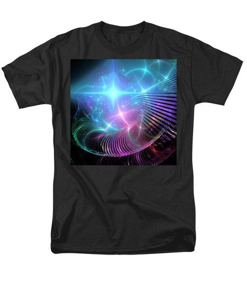 Men's T-Shirt  (Regular Fit) featuring the digital art Breaking Through The Portal by Svetlana Nikolova
