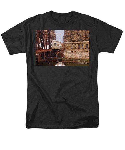 Bridge House Men's T-Shirt  (Regular Fit) by David Blank