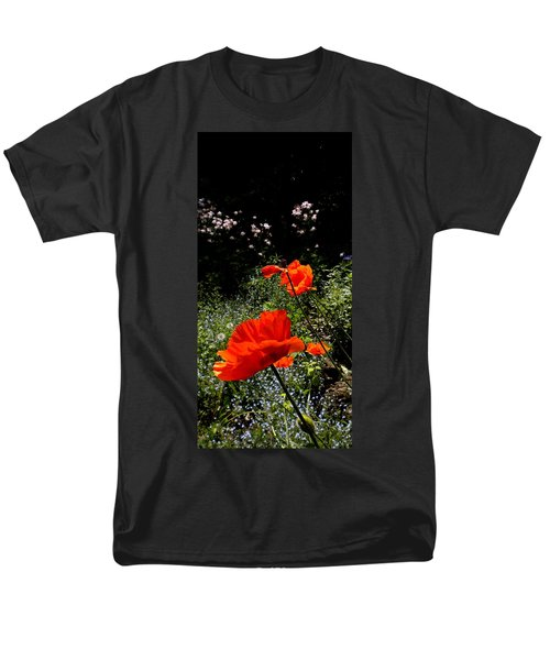 Bright Orange Men's T-Shirt  (Regular Fit) by Renate Nadi Wesley
