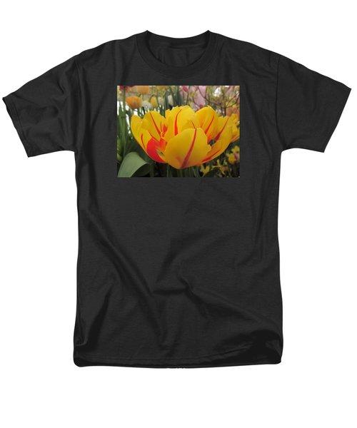 Bright Tulip Men's T-Shirt  (Regular Fit) by MTBobbins Photography