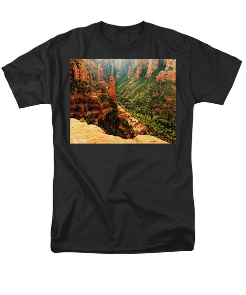 Brins Mesa 07-143 Men's T-Shirt  (Regular Fit) by Scott McAllister