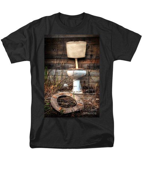 Broken Toilet Men's T-Shirt  (Regular Fit) by Carlos Caetano