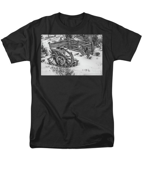 Broken Water Wheel Men's T-Shirt  (Regular Fit) by Sue Smith