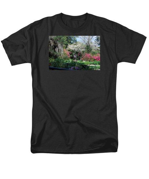 Brookgreen Gardens 2 Men's T-Shirt  (Regular Fit) by Gordon Mooneyhan