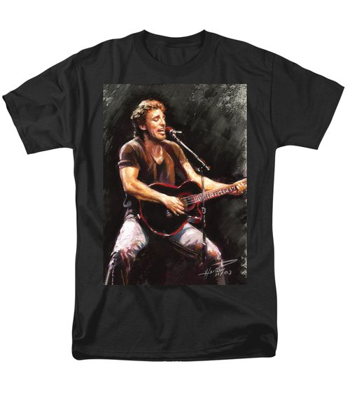 Bruce Springsteen  Men's T-Shirt  (Regular Fit) by Ylli Haruni