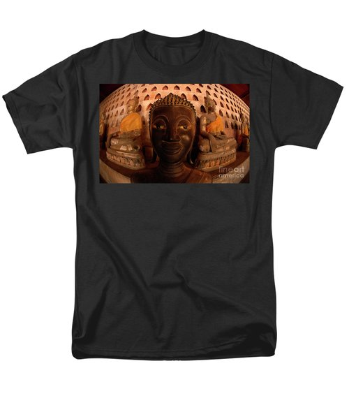 Buddha Laos 1 Men's T-Shirt  (Regular Fit) by Bob Christopher