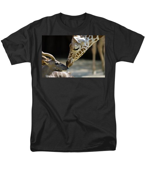 Men's T-Shirt  (Regular Fit) featuring the photograph Buddies by Steve Stuller