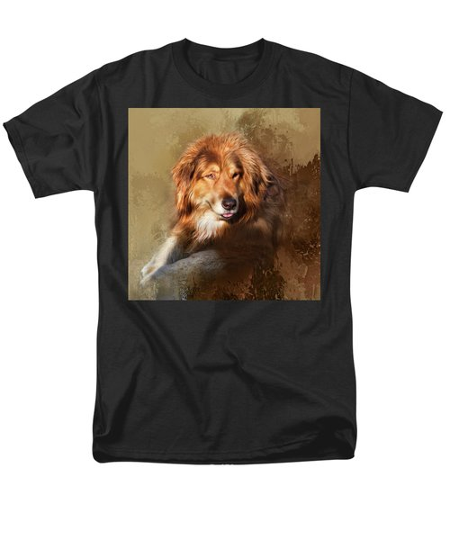Men's T-Shirt  (Regular Fit) featuring the photograph Buddy by Theresa Tahara