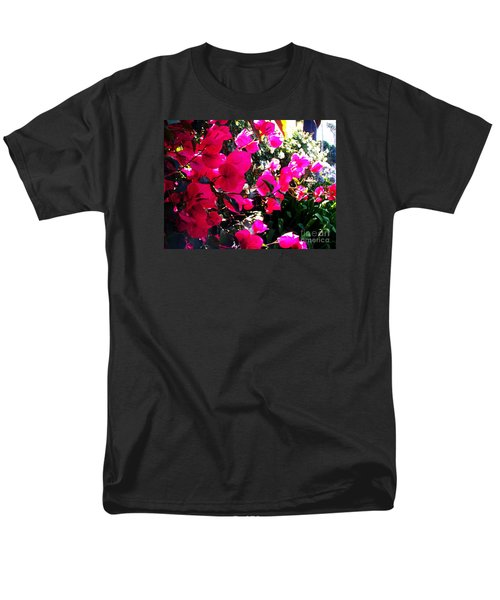 Men's T-Shirt  (Regular Fit) featuring the photograph Bugambilia by Vanessa Palomino