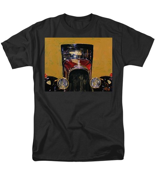 Bugatti Vintage Maroon Men's T-Shirt  (Regular Fit) by Walter Fahmy