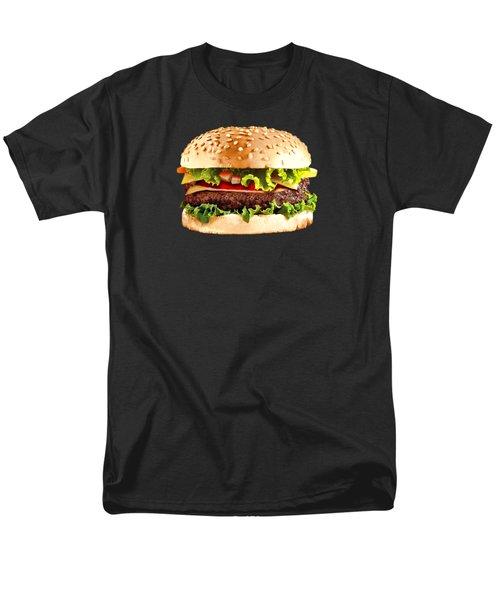 Burger Sndwich Hamburger Men's T-Shirt  (Regular Fit)
