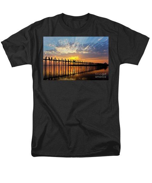 Men's T-Shirt  (Regular Fit) featuring the photograph Burma_d819 by Craig Lovell