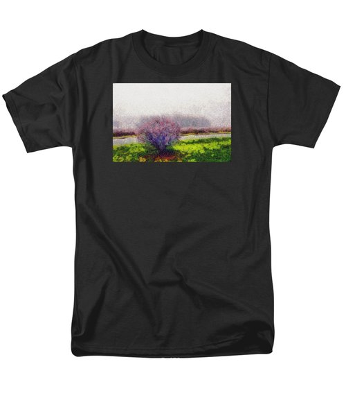 Burning Bush Men's T-Shirt  (Regular Fit) by Spyder Webb