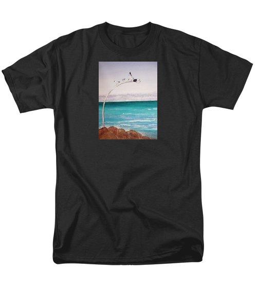 Burns Beach Men's T-Shirt  (Regular Fit) by Elvira Ingram