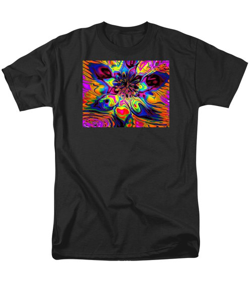 Men's T-Shirt  (Regular Fit) featuring the digital art Butterfly Abstract by Maciek Froncisz