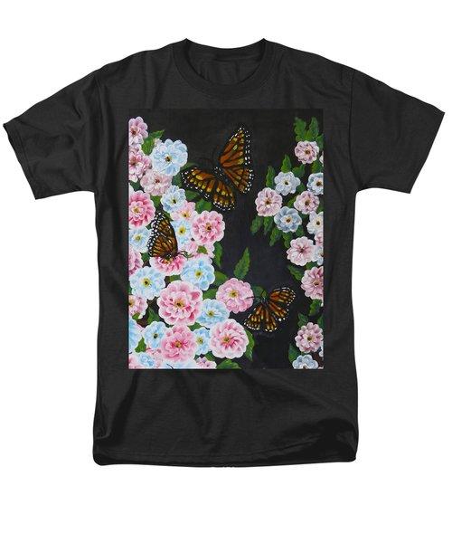 Butterfly Beauty Men's T-Shirt  (Regular Fit) by Teresa Wing