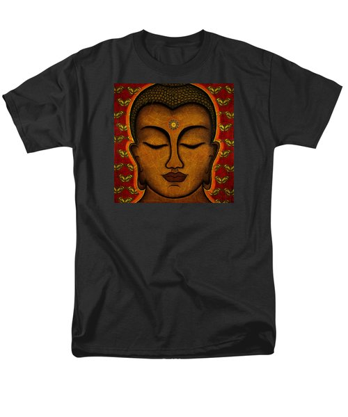 Butterfly Invocation Men's T-Shirt  (Regular Fit) by Gloria Rothrock