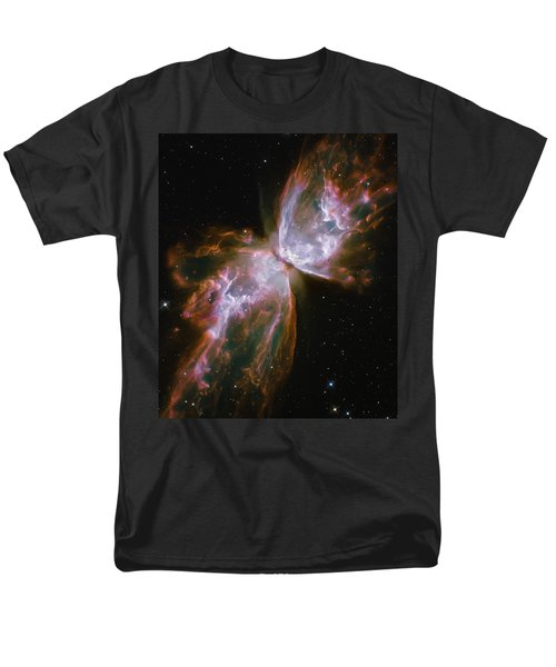 Butterfly Nebula Men's T-Shirt  (Regular Fit) by Jennifer Rondinelli Reilly - Fine Art Photography