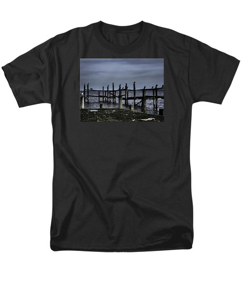 By The Sea Men's T-Shirt  (Regular Fit) by Mikki Cucuzzo
